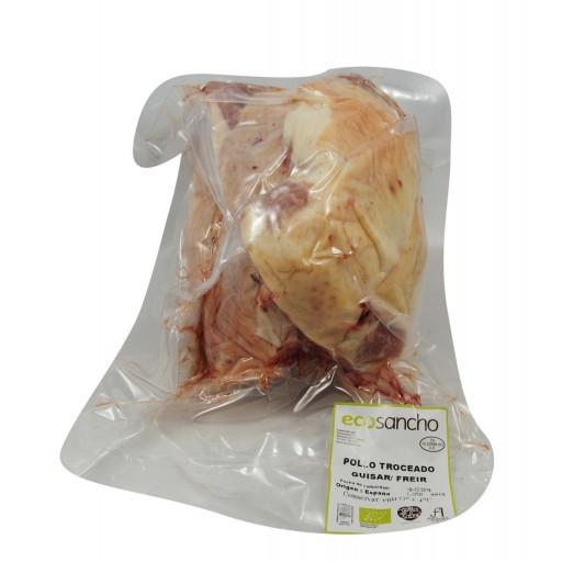 Pollo Troceado Entero Ecológico Sanchonar