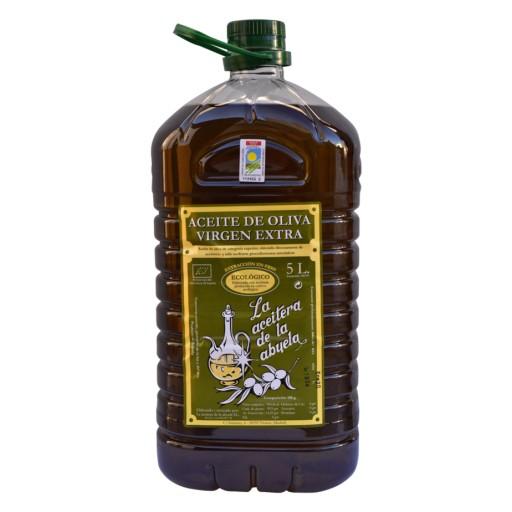 Aceite Oliva Virgen Extra Ecológico