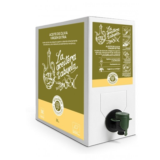Aceite de Oliva Virgen Extra de 3L bag-box