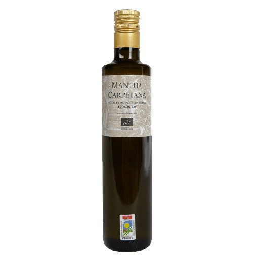 MANTUA CARPETANA Aceite oliva ecologico madrid 500 ml