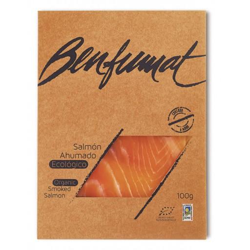 Salmon Ahumado Eco Sobre 100 gr