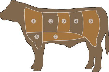Propiedades de la carne de ternera